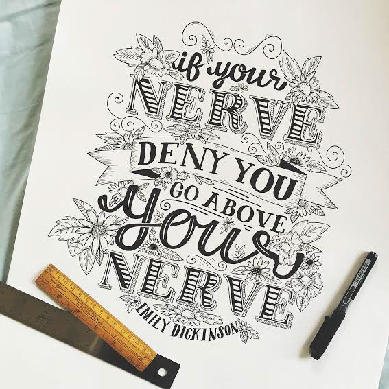 Steph Baxter - Freelance hand lettering and illustration