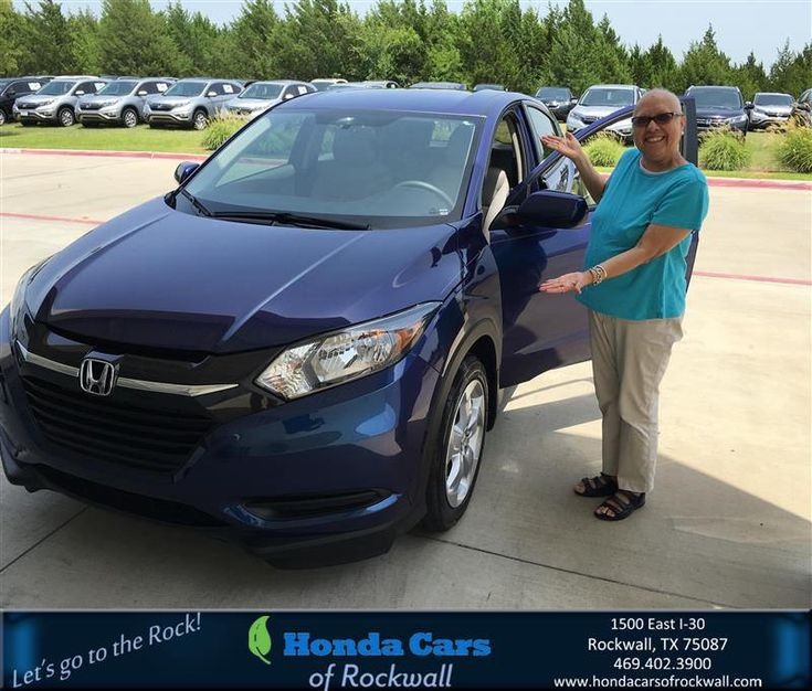 Congratulations mary on your honda hrv from christian