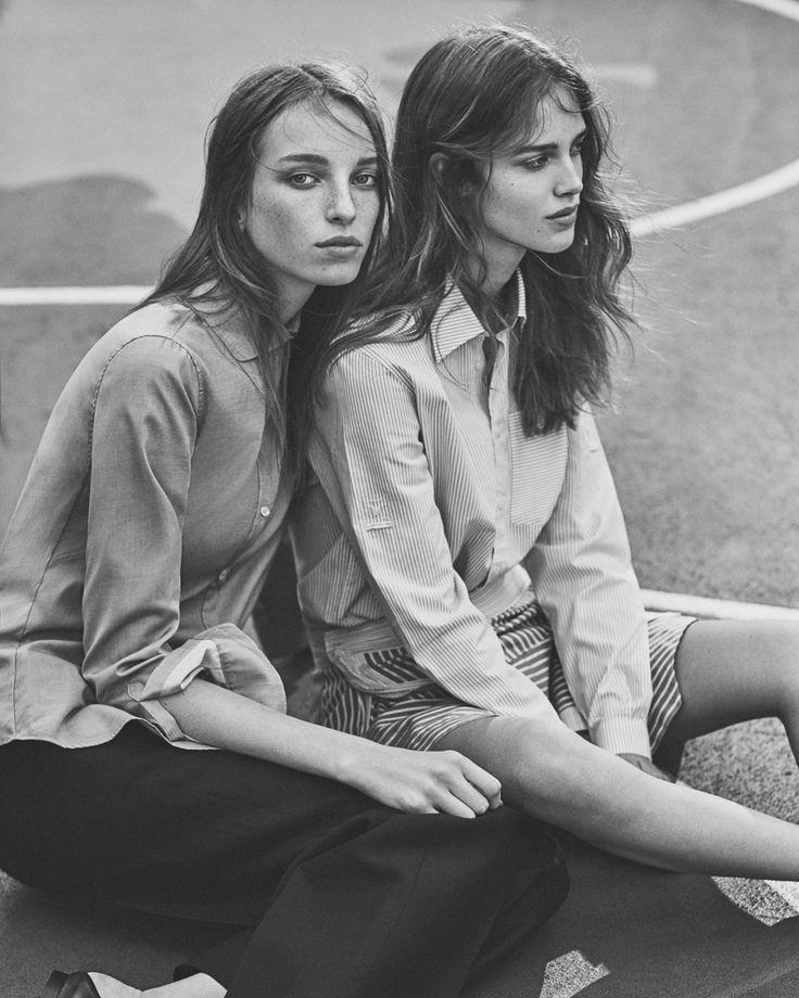 W Magazine März 2016 Jamilla Hoogenboom und Julia Jamin von Emma Tempest