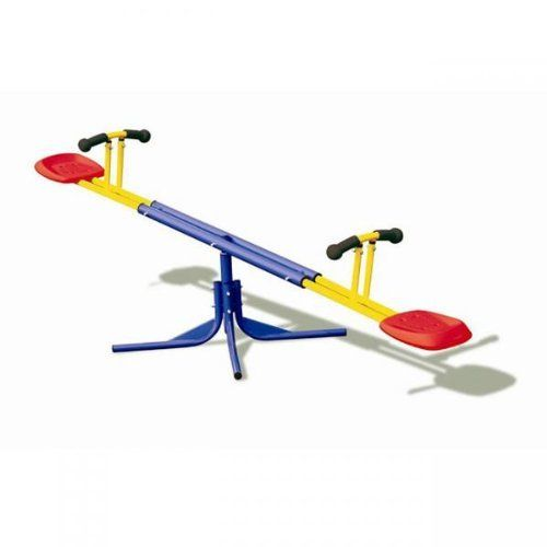 Grow 'n Up Heracles Seesaw by Grow 'n Up. Save 50 Off!. $55.11. Promotes physical activity. 360 Degree rotating see-saw. Safety stopper pole. 8035-01 Features: -Seesaw.-Moves up and down with 360 degree rotation.-Easy grip soft handle.-Stopper pole for extra safety.-For ages 3 - 10 years. Assembly Instructions: -Assembly required.