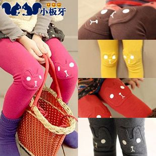 2013 autumn korean version of the new childrens clothing baby bunny girls leggings long pants 5305 only $7.03USD a Piece