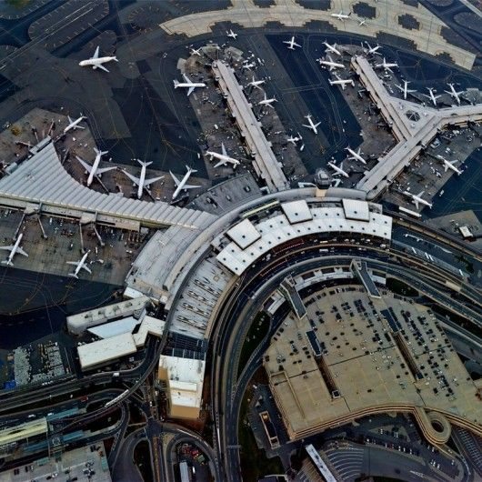 Newark Liberty International Airport © Jeffrey Milstein. Newark, NJ. I've been a few times... never left the airport on time due to flight cancellations or delays. I was on United each time. Amazing views of NYC from the terminals and during take off and landings.