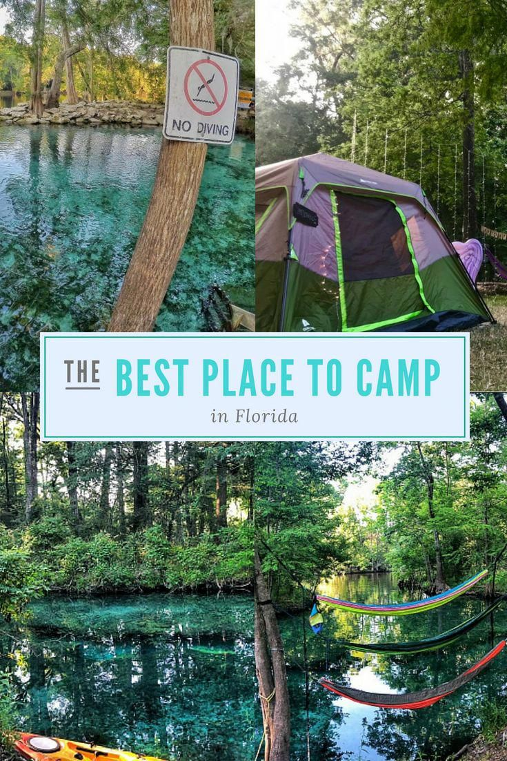 Camping Items List Campingchecklist In 2020 Ginnie Springs Camping Spring Camping Florida Camping