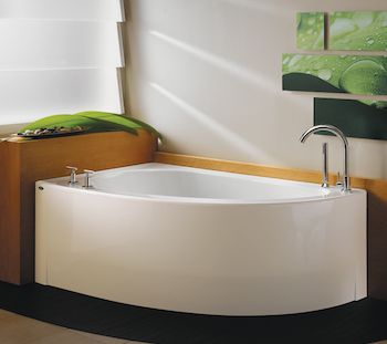 Ideas For A Small Bathroom Corner Tub Small Bathroom And Tubs