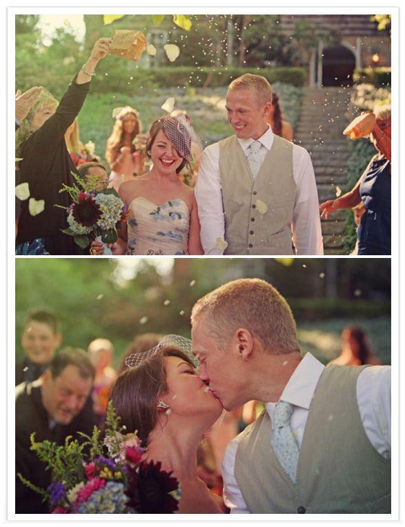 57 best Ecofetti Wedding Photos images on Pinterest | Wedding ...