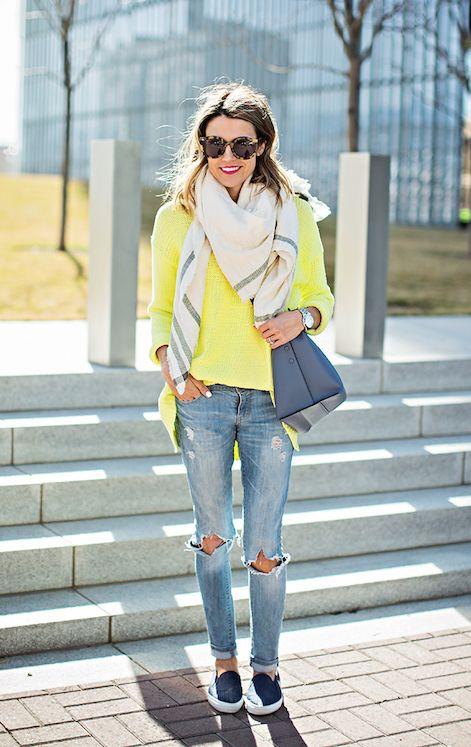 Женская уличная мода весна осень