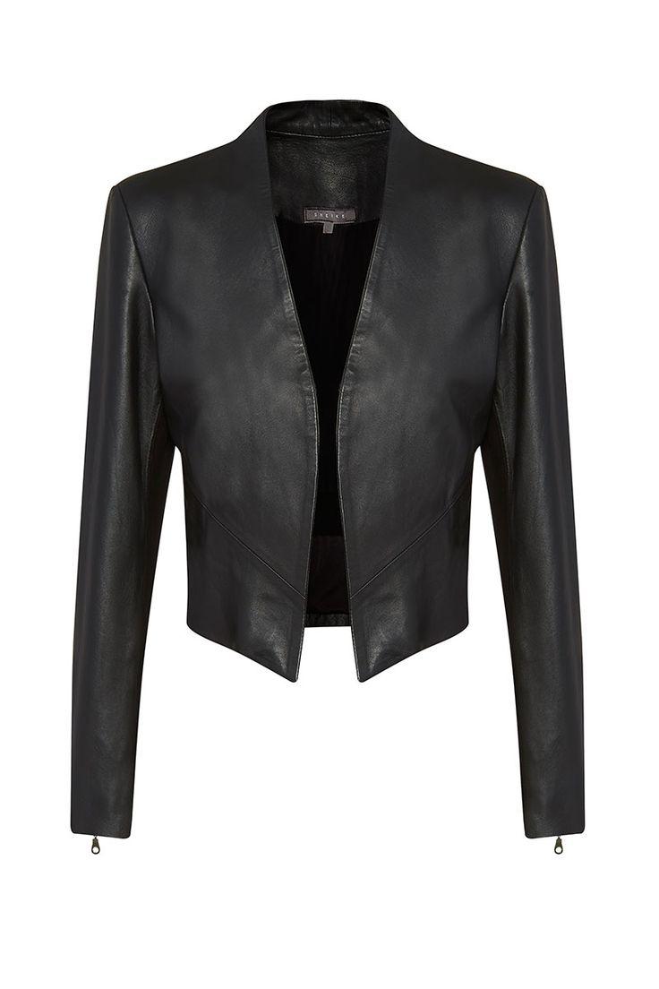 Leather jacket zippay - Conquer Leather Jacket