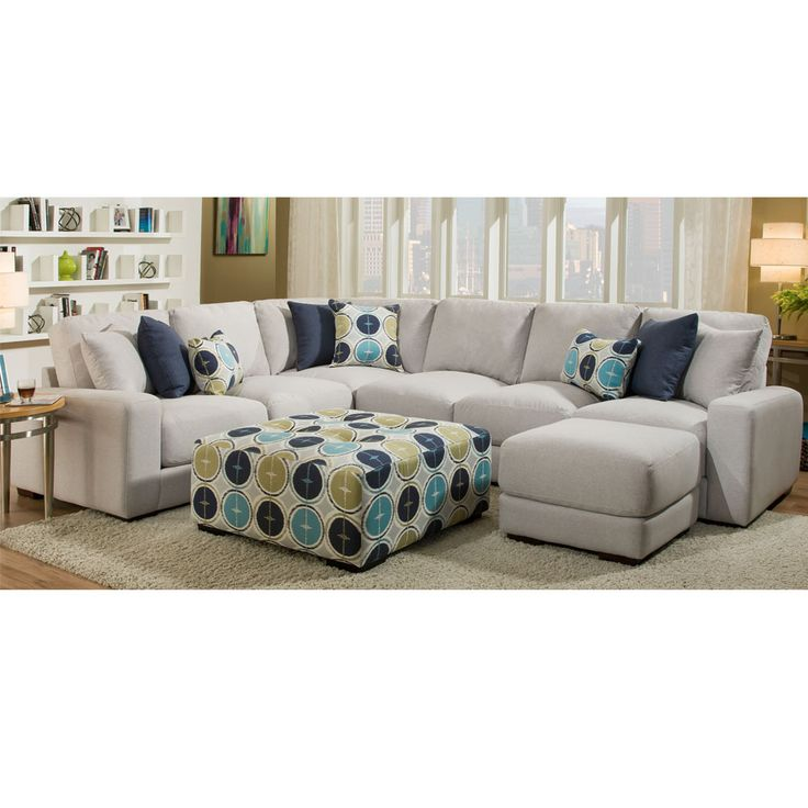 Gray Sectional - Jules from Franklin  sc 1 st  Pinterest : franklin sectional sofa - Sectionals, Sofas & Couches