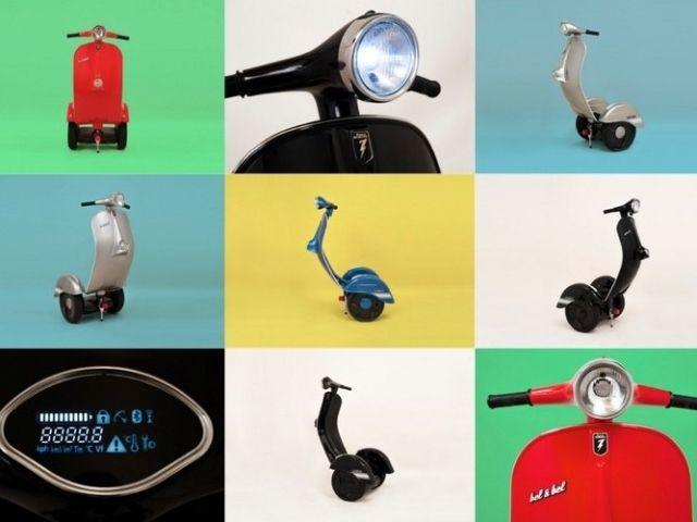 La Vespa es una de candidatos a ocupar el primer puesto de los más importantes dentro del mundo de los scooters. Se ha querido respetar su silueta clásica pero obviamente esto tiene unas limitaci...