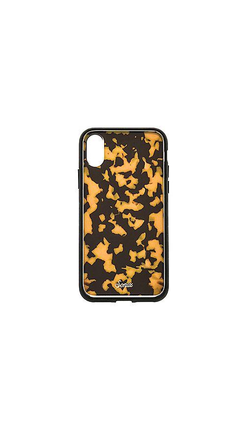 brand new 7c44b 5e492 Sonix Brown Tortoise iPhone XS/X Case in Brown Tort | REVOLVE ...