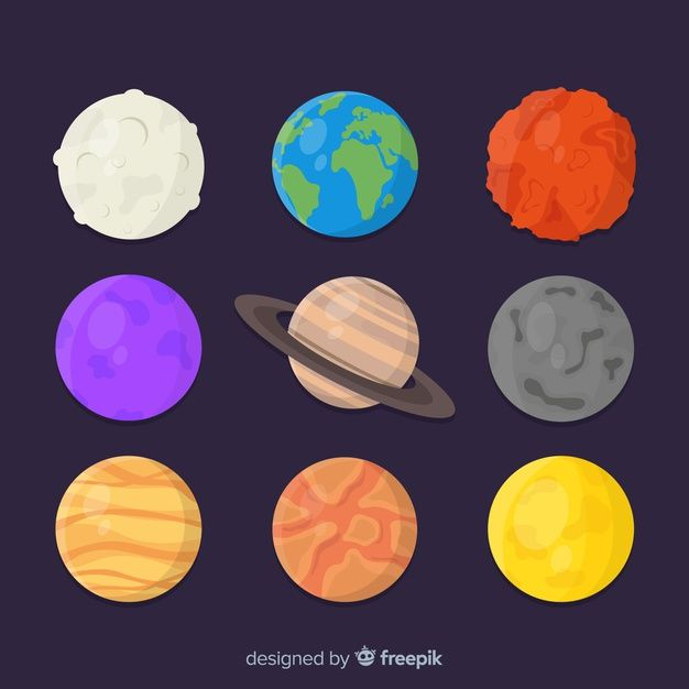 Download Collection Of Different Planets Stickers For Free Com