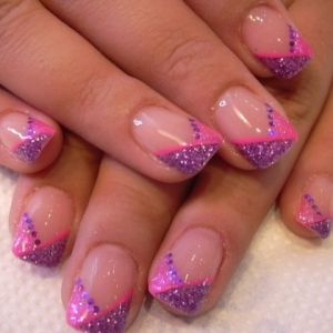 nails: French Manicures, Nails Design, Spring Colors, Pretty Nails, Nails Patterns, Colors Combinations, French Nails Art, Nails Art Design, French Design