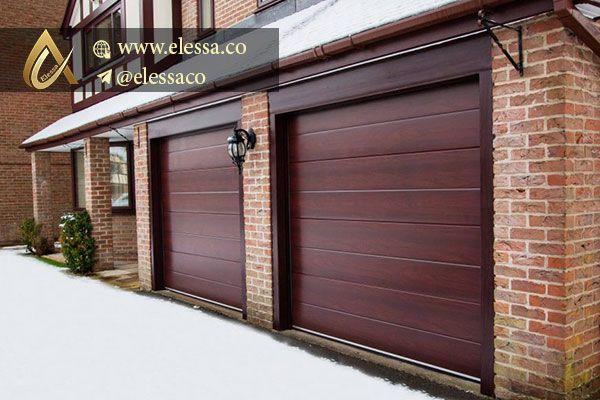 بازوهای درب اتوماتیک پارکینگ Sectional Garage Doors Apartment