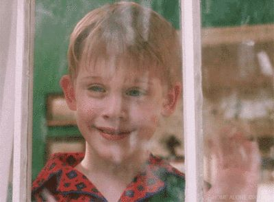 New party member! Tags: snow winter hi window waving kevin home alone macaulay culkin snowing kevin mcallister