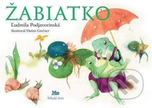 """Keď pršalo, mrholilo, žabiatko sa narodilo, žabiatko ver´silné ani buk, otvorilo sivé očká, skríklo:,, Mama, kŕk!"""" Kto by nepoznal tieto láskou preteplené verše tety Ľudmily? Maličkým deťom ich priblíži klasické leporelo s milými ilustráciami... (Kniha dostupná na Martinus.sk so zľavou, bežná cena 2,96 €)"""