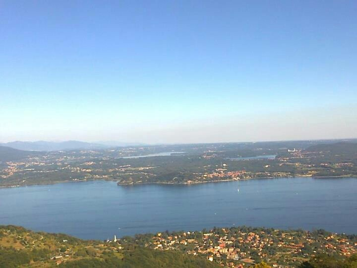 Vista dall'alto del monte #SanSalvatore (#MassinoVisconti, #Piedmont, #Novara, #Italy)