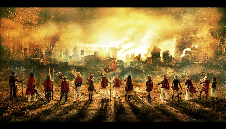 Final Fantasy Type 0 - Flame of the Phoenix by XiaoBai on DeviantArt