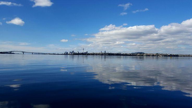 Calm Waitemata Harbour