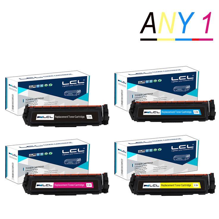 Any1 LCL 410A CF410A CF411A CF412A CF413A (1-Pack) Toner Cartridges Compatible for HP Color LaserJet Pro M452dn/M477fdw/M477fnw