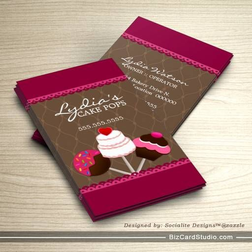 25 best ideas about bakery business cards on pinterest for Cake business card ideas