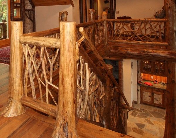 Best 8 Best Yellow Pine Stair Railing Images On Pinterest 640 x 480