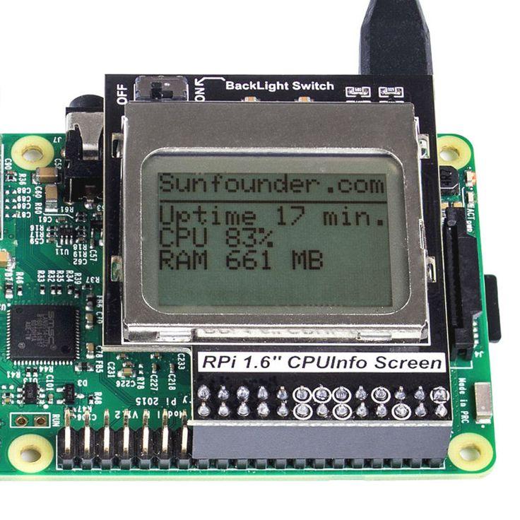Mini LCD PCD8544 Berbasis Perisai 5110 84*48 dengan Backlight untuk Raspberry Pi Model B/B + 2 Model B & 3 Model B