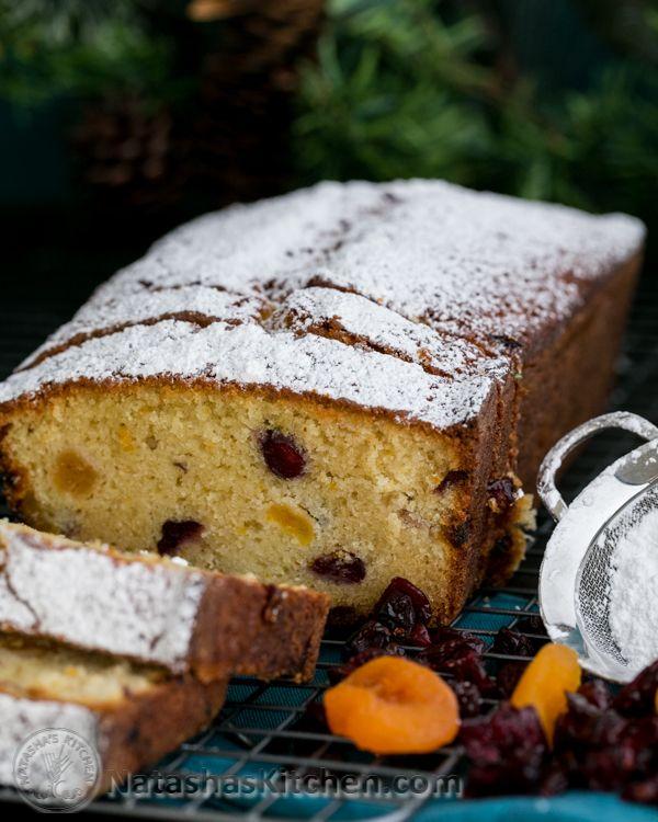 Cranberry Apricot Loaf (A Keks | Recipe | Russian food recipes ...