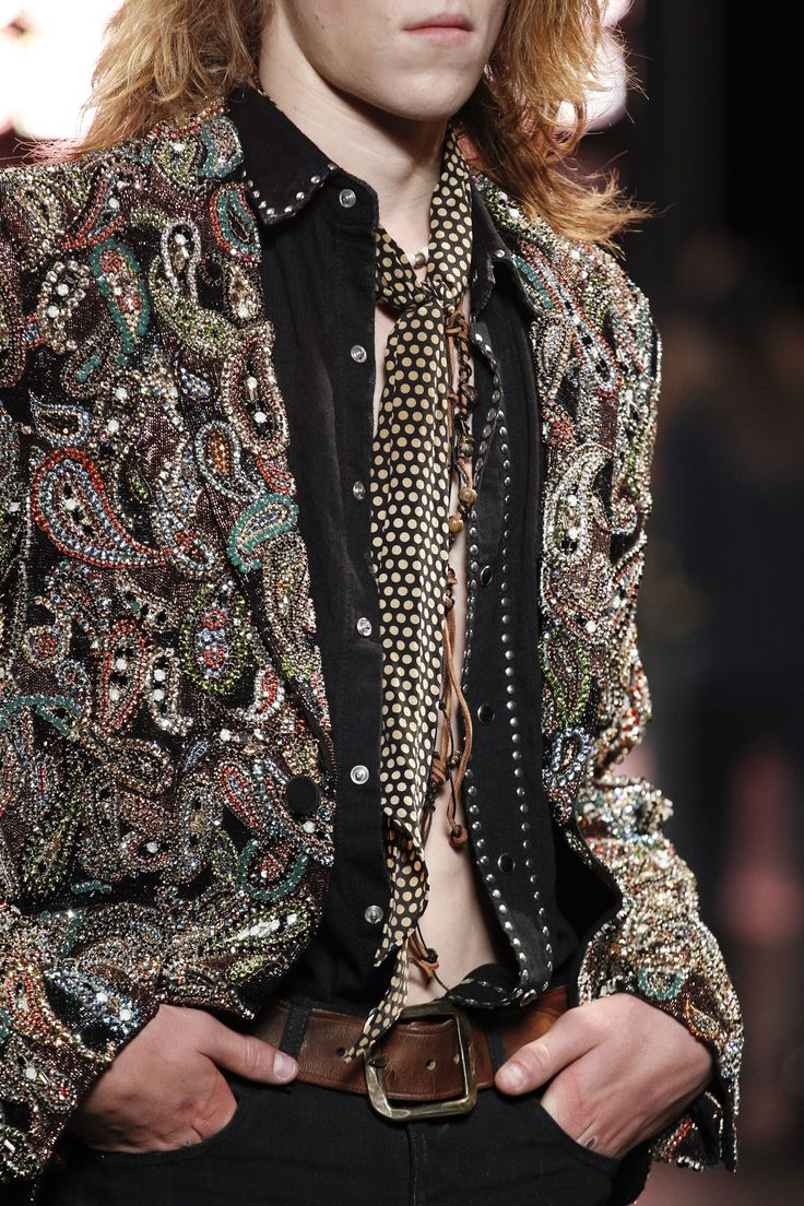 """Psych Rock's New Rising"" with Saint Laurent Spring/Summer 2015 Menswear 