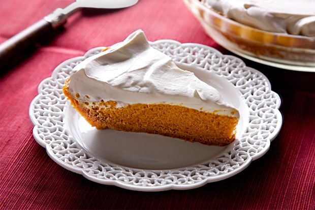 Pumpkin Chiffon Pie.  Just when I thought I had decided on my pumpkin dessert for Thanksgiving!
