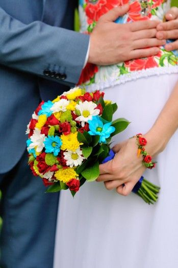 Brautstrauß Margeriten