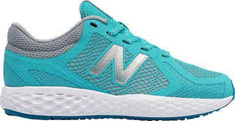 New Balance Girl's KJ720 Road-Running Shoes Blue/Grey 5.5 Wide Kids