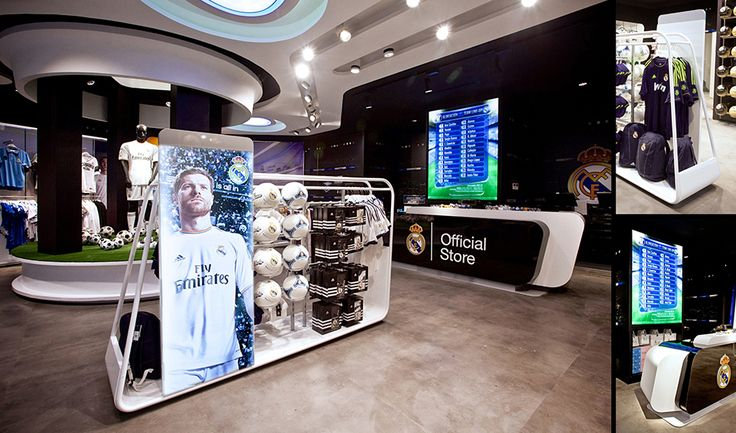 sanzpont [arquitectura] - Real Madrid Official Store, Gran Via 31