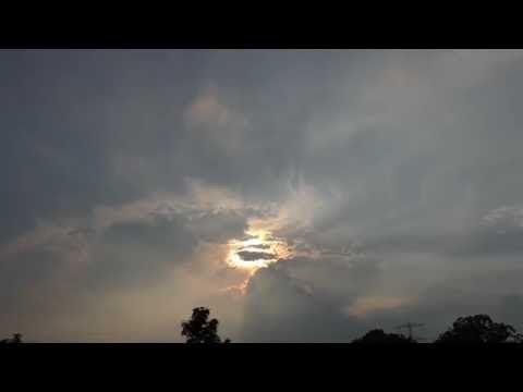Time lapse zonsonsdergang zaterdag 23 juli 2016 - YouTube