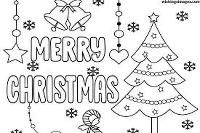 Free Christmas Coloring Pages Printable Christmas Coloring Pages Merry Christmas Coloring Pages Christmas Coloring Pages