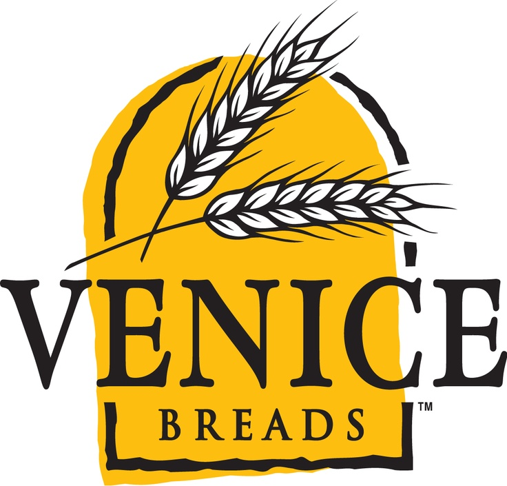 Venice Breads Vancouver based bakery logo and brand development