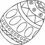Plain Easter Egg Coloring Pages Getcoloringpages regarding Easter Egg Printable Coloring Pages with regard to  Motivate   in coloring page