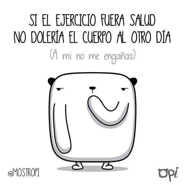A mi no me engañas... #opi #cute #kawaii #mostropi #ilustración #ejercicio | por OSCAR OSPINA STUDIO