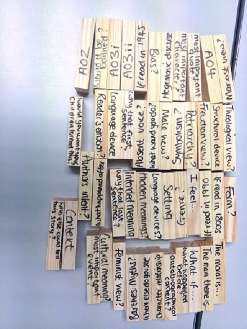 Revision Jenga - the best revision activity in town! Now with updated blog post on how I use this in my classroom.