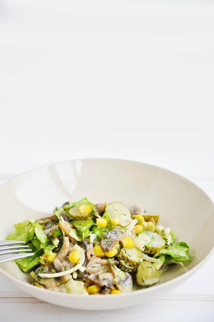 Best mushroom salad recipe salata de ciuperci vegan