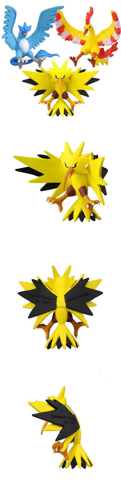 Pok mon 1524: Tokara Tomy 3 Pcs Set 2 Pokemon Articuno Zapdos Moltres Kids Action Figure Toys -> BUY IT NOW ONLY: $34.99 on eBay!