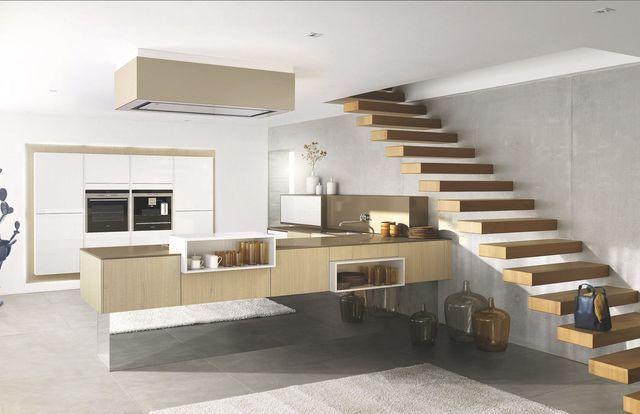 Cuisine moderne bois clair avec des id es - Cuisine moderne bois clair ...