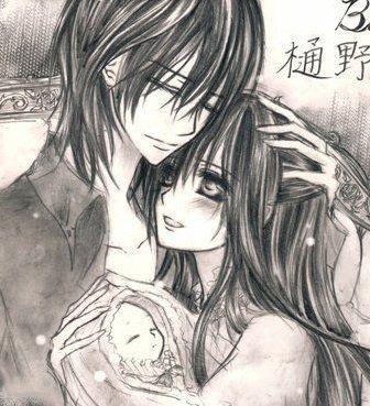 Vampire Knight | Kaname and Yuki | pureblood vampire royalty - vampire-knight-yuki-kaname Fan Art