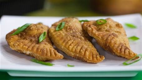 Make these Brazilian beef and cheese pasteles for a party appetizer