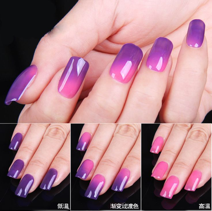 Temperature Change Color UV Gel Nail Polish Color Changing Gel Polish