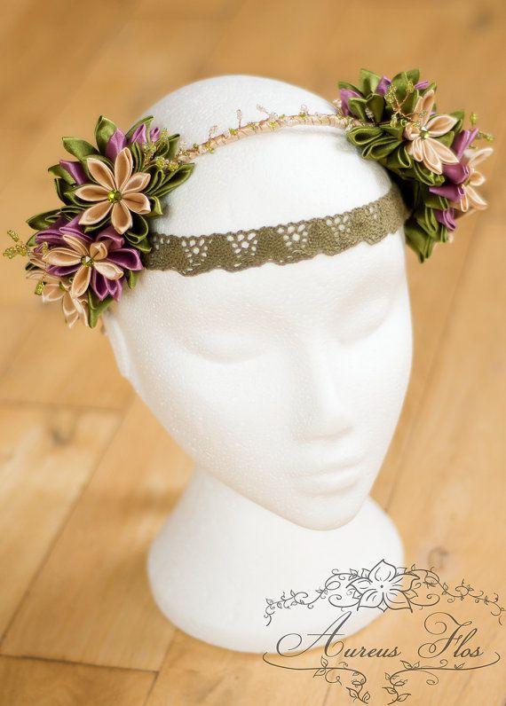 Celtic Boho Fantasy Headband LOTR Elven Fairy Flower by AureusFlos