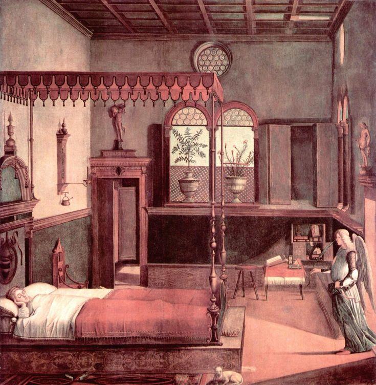 Vittore Carpaccio The Dream Of St Ursula Gallerie DellAccademia Venice