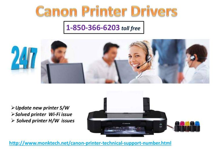 Canon Printer Drivers are the software which is used to increase compatibility of our Canon printers. For the same purpose, you need to make a ring at our toll-free number 1-850-366-6203 and get connected with our diligent technicians. Our techies will guide you on the same topic and you can dial our toll-free number at anytime. And much more.click on : http://www.monktech.net/canon-printer-technical-support-number.html