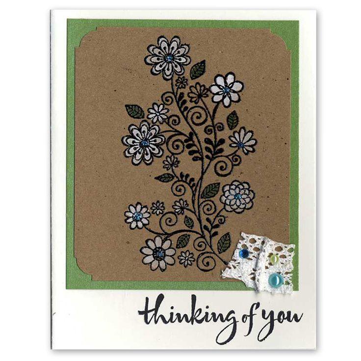 flower swirlCards Ideas, Flower Swirls, Creative Ideas, Gift Ideas, Handmade Cards, Crafty Cards, Cards Inspiration, Creative Art, Cards Samples