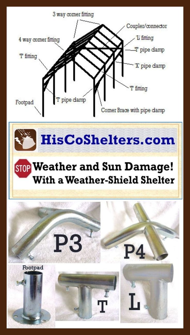 BuildItYourself Quality Portable Shelter Parts **Quality