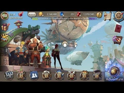 Hunters League RPG FACEBOOK GAMEplay #1 - Hunters League is a Free to play Role Playing Multiplayer Game featuring Cross platform play among iOS Android and PC via Facebook Gameroom